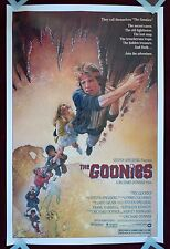 THE GOONIES * ORIGINAL MOVIE POSTER 1985 1SH ROLLED VINTAGE SLOTH