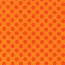 1/2 metre Robert Kaufman Spot On Flames Orange 100% Cotton (50cmx110cm)