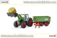 Farm World Tracteur avec remorque SCHLEICH - SC 42379