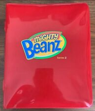 Mighty Beanz Series 2 Case Red- Case Only