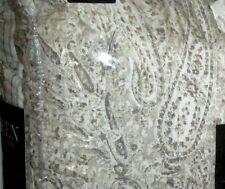RALPH LAUREN Queen Size Comforter Set 4PCS BRAWNY TAN PAISLEY gray
