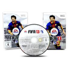 Nintendo Wii Spiel Fifa 13 2013 in OVP mit Anleitung