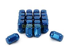 20pc 12x1.5 Bulge Blue Lug Nuts (Cone Seat) Closed End for Honda Toyota Hyundai