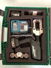 Greenlee E12CCXL Cordless Hydraulic Crimper Cable Cutter 12 TON Multi-tool NEW