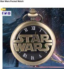 Antique Bronze Epic Space movie series Star Wars Hollow Quartz Pocket Watch
