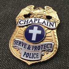 Chaplain Police Mini Badge