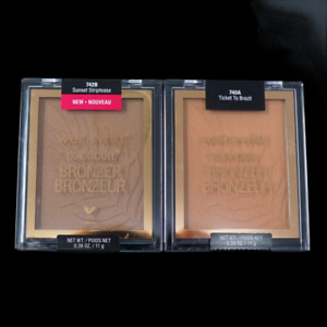 Wet n wild Color Icon Bronzer, Ticket To Brazil or Sunset Striptease 0.38oz/11g