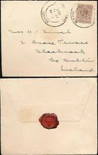 GOLD COAST 1927 KUMASI to IRELAND...GRIFFIN SEAL