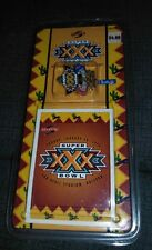 SCORE 96 NFL Super Bowl XXX Commemorative Pin & Card Cowboys Steelers Football