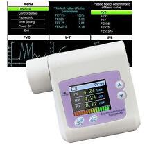 CONTEC SP10 Spirometer Lungenfunktion Lungenvolumen PEF FEFV1 FEF Diagnostik
