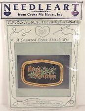 Needleart Merry Christmas Counted Cross Stitch Kit Cross My Heart Inc DMC Floss