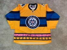 Springfield Ice-O-Topes Authentic Jersey sz 56 The Simpsons Falcons RARE NWT CCM