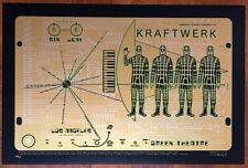 MINT & SIGNED Emek Kraftwerk 2005 Greek Theater Los Angeles Poster 46/300