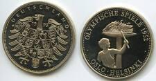 GY192 - Medaille Olympische Spiele 1952 Oslo-Helsinki Olympiade NP 1993