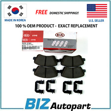 "GENUINE FRONT BRAKE PADS KIT FOR 17-18 KIA FORTE FORTE5 15"" WHEEL 58101-A7A01"