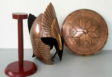 LORD OF THE RINGS HELMET WITH SHIELD MEDIEVAL COSTUME MEDIEVAL KNIGHT CRUSADER