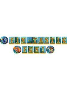 Disney Pixar Finding Nemo Fin-Tastic Fun! Birthday Banner