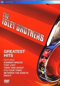 The Isley Brothers Greatest Hits - DVD Video - Summer Breeze etc - Brand New