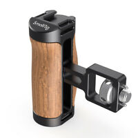 SmallRig Wooden Handle DSLR Wood Side Handle Grip Mount with Arri Standard Mount