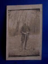 cpa photo guerre 1914 militaire cavalier guerre 14 18 dragon ou cuirassier