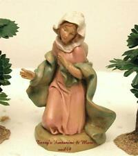 "Fontanini Depose Italy 5"" Mother Mary Madonna Nativity 1991 Figure 72512 Mint"