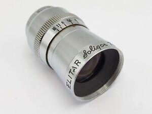 Soligor Elitar 7mm F2.5 Cine Lens for D Mount / Pentax Q Camera Adaptation *READ