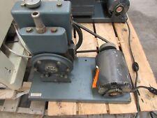 WELCH DUO-SEAL VACUUM VAC LAB PUMP 1/3 HP Used