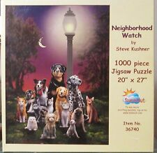 NEIGHBORHOOD WATCH BY STEVE KUSHNER (Complete) SUNSOUT PUZZLE