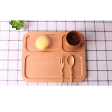Kitchen Serving Wooden Plate Tray Food Plates Little Dinnerware Dishes XXL