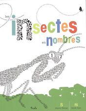Beau livre enfants - Les Insectes En Nombres - Sharon Werner - Tout neuf