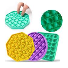 Push it Bubble Fidget Toy Pop Sensory Special Needs Stress Relief TikTok Game UK