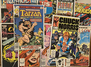 Lot Of 12 Marvel Various Titles , All #1s From The 1980s!  Free Shipping! 🔥 🔑