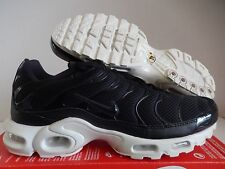 NIKE AIR MAX PLUS BR TN BLACK-BLACK-SAIL SZ 12 [898088-001]