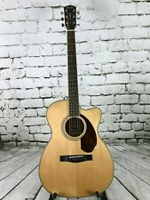 Fender Paramount PM-3 Standard, Triple-O Acoustic/Electric Guitar - Natural