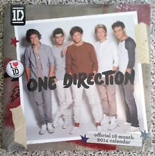 ONE DIRECTION OFFICIAL 2014 DANILO CALENDAR. 16 MONTH VIEW BRAND NEW & SEALED 1D