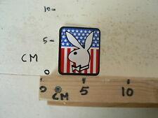 STICKER,DECAL PLAYBOY LOGO USA STAR AND STRIPS USA FLAG ? BUNNY