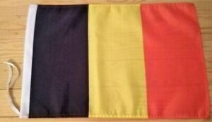 """BELGIUM FLAG - 45cm x 30cm - 18"""" x 12""""  -  Belgian Flag"""