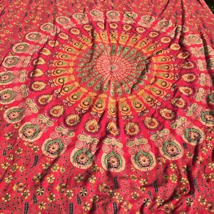 Twin Duvet Cover Urban Outfitters Hippie Mandala Red andRoom Essential Duvet