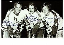 "Gordie Howe, Marty Howe, & Mark Howe ""The HOWE Line-1974 WHA AVCO Cup Champs"