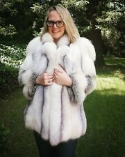 Platina Fox Fur Coat