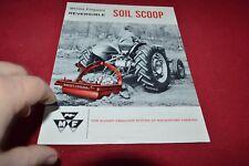 Massey Ferguson Reversible Soil Scoop Dealer's Brochure YABE15