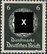 Imperio Alemán d135 nuevo 1934 sello de franqueo oficial