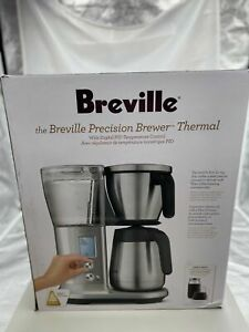 Breville Precision Brewer Thermal Coffee Maker, Brushed Stainless Steel