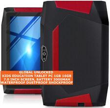 KIDS EDUCATION 16gb Quad Core Waterproof Dustproof Camera Wifi Android Tablet Pc