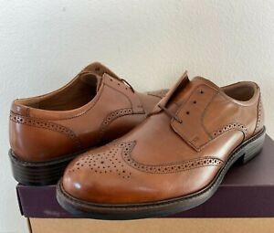 Men's Johnston & Murphy Tabor Wingtip Leather Oxfords 20-1862 Tan