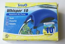 New Tetra Whisper 10 Aquarium Air Pumps Up To 10 Gallons Powerful Quiet Reliable
