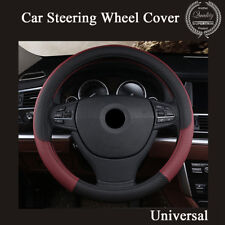 PU Leather Universal Car Steering Wheel Cover 38CM Car-styling Sport Accessories