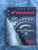 2009- 2014 Honda TRX420 FA FPA Fourtrax Rancher AT Factory Service Shop Manual