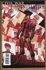 Civil War The Initiative #1 - 2nd Print Variant! - 2007 (Grade 9.2)