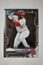 2021 Bowman Chrome Base #BCP-226 Malcom Nunez - St. Louis Cardinals